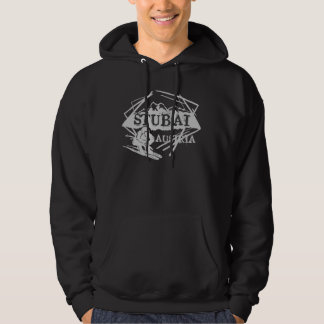 Stubai Austria guys dark ski hoodie