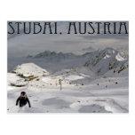 Stubai Glacier Postcard