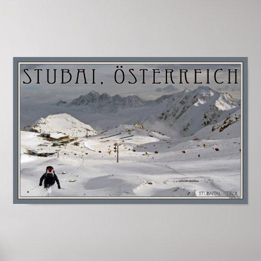 Stubai Glacier Poster