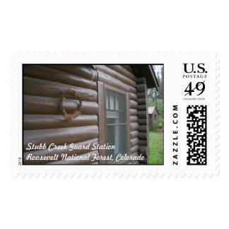 Stubb Creek Guard Station Stamps