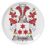 Stubbe Family Crest Dinner Plates
