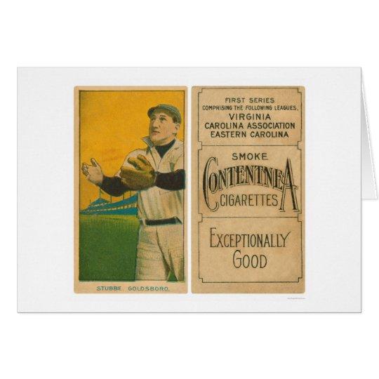 Stubbe Goldsboro Baseball 1910 Card