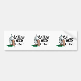 Stubborn Old Goat Bumper Sticker
