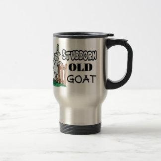 Stubborn Old Goat 15 Oz Stainless Steel Travel Mug