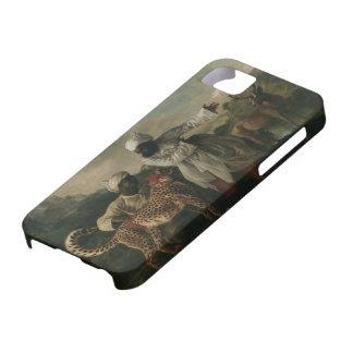 Stubbs-Guepardo de George con los criados y los iPhone 5 Case-Mate Coberturas