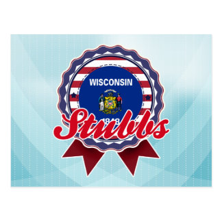 Stubbs, WI Tarjeta Postal