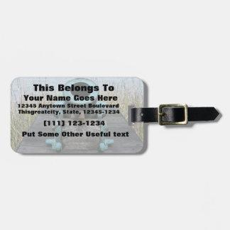 Stubby canon travel bag tags