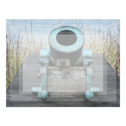 stubby canon water grass background personalized letterhead