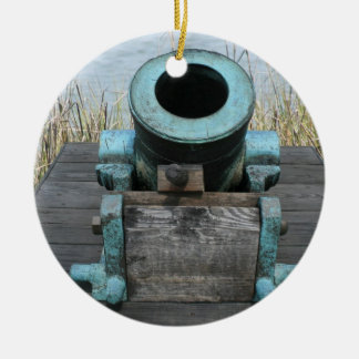 stubby canon water grass background christmas tree ornaments