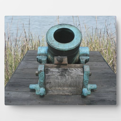 stubby canon water grass background plaques