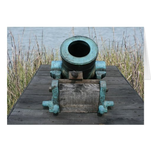 stubby canon water grass background stationery note card