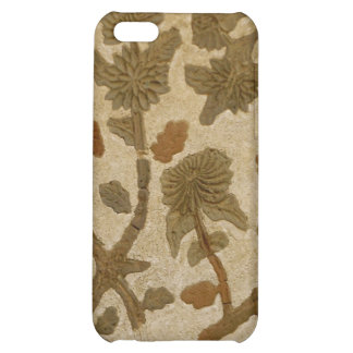 Stucco Flowers Cover For iPhone 5C