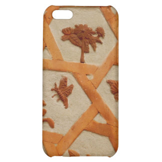 Stucco Flowers Case For iPhone 5C