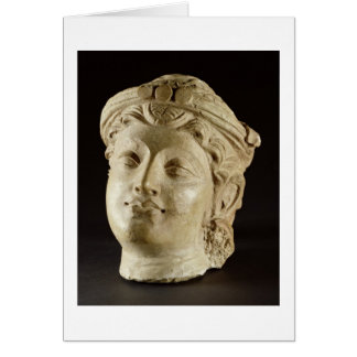 Stucco head, Gandhara, 4th century AD Card
