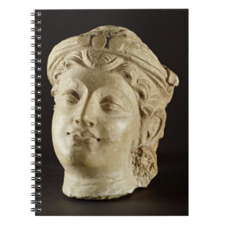 Stucco head, Gandhara, 4th century AD Notebook