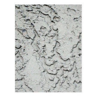 Stucco plaster wall background texture postcard