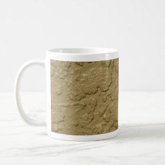 Stucco Taupe beige Cement Coffee Mug