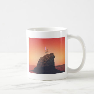 Stuck Between Worlds Of Emotion Coffee Mug