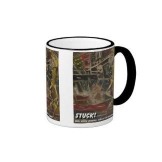 Stuck  coffee mugs