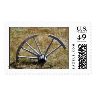 Stuck in a Rut Postage Stamp