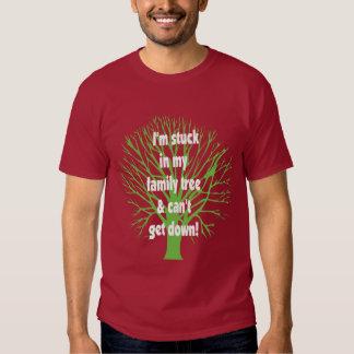 Stuck In My Family Tree Tee Shirt