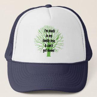 Stuck In My Family Tree Trucker Hat