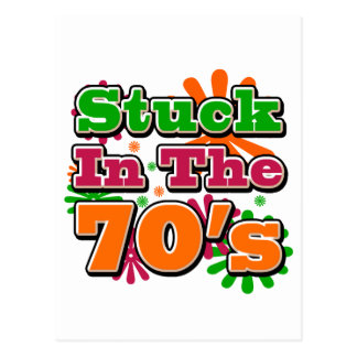 Stuck in the 70's postcards