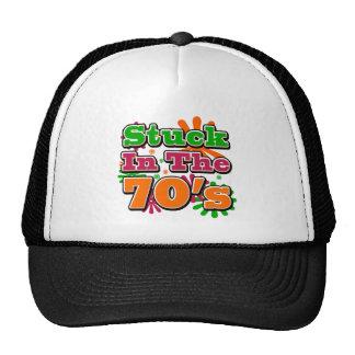 Stuck in the 70's trucker hat