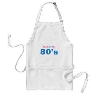 Stuck in the 80's adult apron