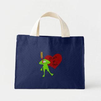Stuck on You Valentine Bag