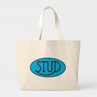 Stud Jumbo Tote Bag