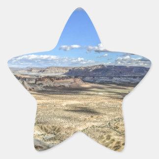 Stud horse point near lake Powell near Utah Star Sticker