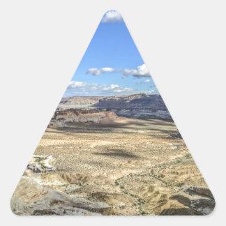 Stud horse point near lake Powell near Utah Triangle Sticker