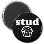 Stud Muffin 2 Inch Round Magnet