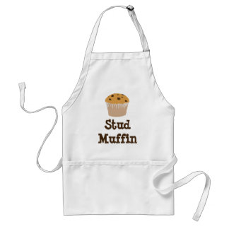 Stud Muffin Apron, Great Fathers Day or Other Adult Apron