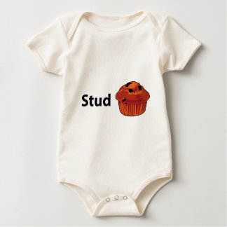 Stud Muffin Baby Bodysuit