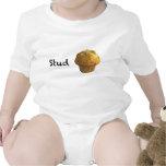 Stud Muffin Baby Bodysuits