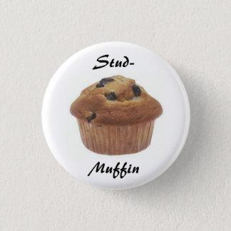 Stud-Muffin badge Pinback Button