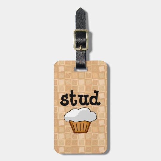 Stud Muffin Bag Tag