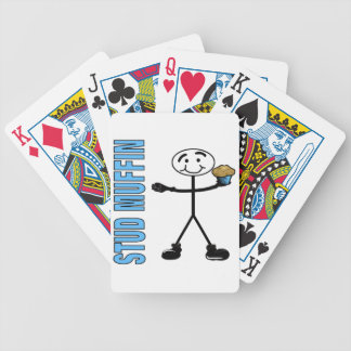 Stud Muffin Bicycle Playing Cards