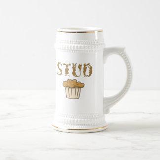 stud muffin bizarro beer stein
