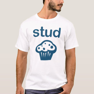 Stud Muffin (Blue) Tee Funny