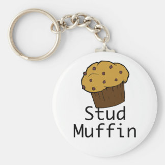 Stud Muffin Boy Keychain