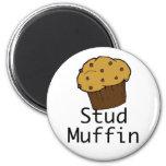 Stud Muffin Boy Refrigerator Magnets