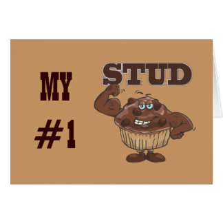 Stud muffin card
