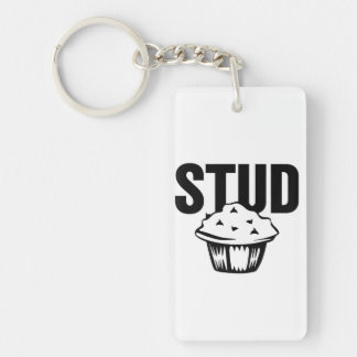 Stud Muffin / Chick Magnet Keychain