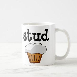 Stud Muffin, Cute Funny Baked Good Classic White Coffee Mug