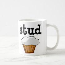 Stud Muffin, Cute Funny Baked Good Coffee Mug
