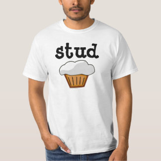 Stud Muffin, Cute Funny Baked Good T Shirts
