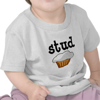Stud Muffin, Cute Funny Baked Good Tee Shirt